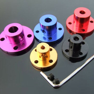 3-8mm Aluminum alloy Rigid flange coupling Shaft shaft support Fixed seat