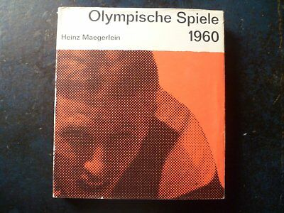 Jeux Olympiques Rome et Squaw Valley 1960. Olympic Games