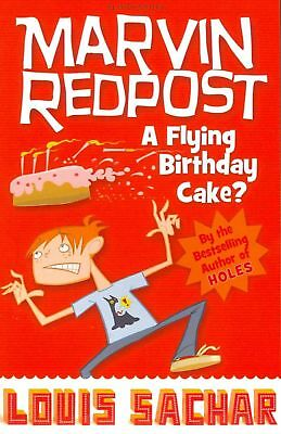 Flying Birthday Cake? by Louis Sachar Paperback Book Free Shipping!