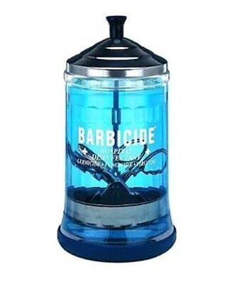 BARBICIDE GLASS SOAKING JAR MEDIUM 21FL midsize