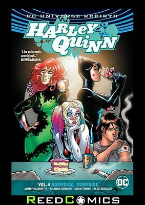 HARLEY QUINN VOLUME 4 SURPRISE SURPRISE GRAPHIC NOVEL Collects (2016) #22-27