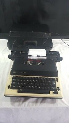 Vintage Nasco Electric Typewriter, With Case.