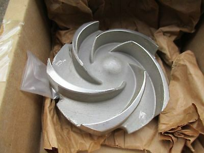 NEW GOULDS PUMP IMPELLER 076781 1203 PUMP MODEL 3196  parts repair