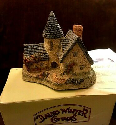 David Winter ~ 1985 ~ Vicarage ~ Signed, Dated, Hand Made & Painted ~ EUC