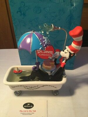 Hallmark, Dr. Seuss Collection The Cat in the Tub Figurine Mint 2001