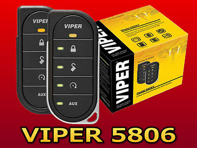 Viper 5806V Remote Start Alarm System With Db3 Bypass Combo