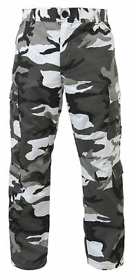 BDU Pants Military Camouflage Paratrooper Tactical Fatigue Camo Pants  Rothco XL 77cfb0934ae