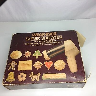 Vintage Wear-Ever Super Shooter  Model 70123 Cookies Candy Snacks Cookie Press
