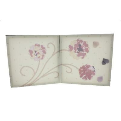 Kids Line 9663 Pink Canvas Baby Girl Nursery Flower Wall Decor BHFO