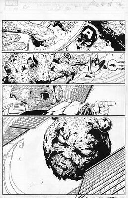 Marvel Exiles # 53 page 5 page Original Art EGO the Living Planet