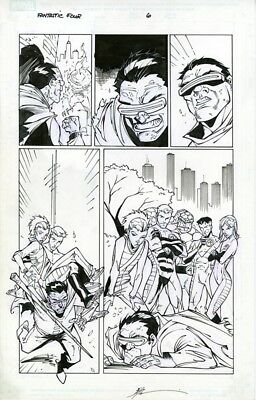 Marvel Age: Fantastic Four Tales Original Art Mole Man