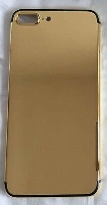Luxury 24K Gold Plated Limited Back Housing Door Middle Frame for iPhone 7Plus