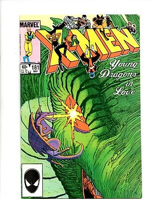 uncanny x-men 5 issue lot 181,183,184,187,188