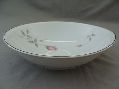 Amcrest Rosetta Fine China Serving Bowl With Pink Roses #5645-4 Made In Japan