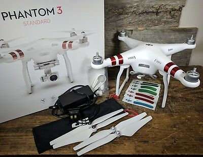 DJI Phantom 3 Standard QUADCOPTER ONLY with Accessories - Excellent!