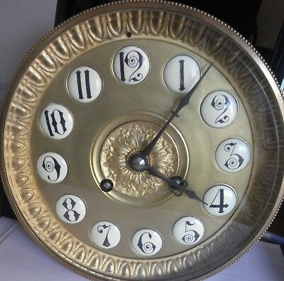 Antique Large French Clock Movement