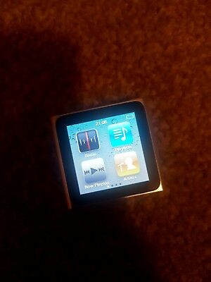 Apple iPod nano 6th Generation Silver (8GB) very good condition