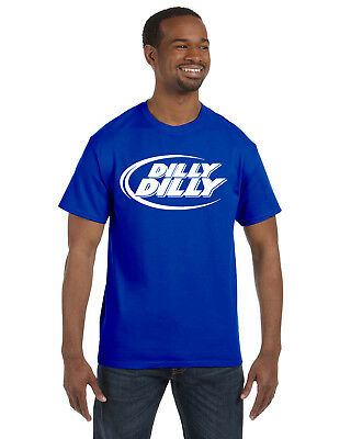 Dilly Dilly Bud Light Drinking Men's Tee Shirt Great Gift!!