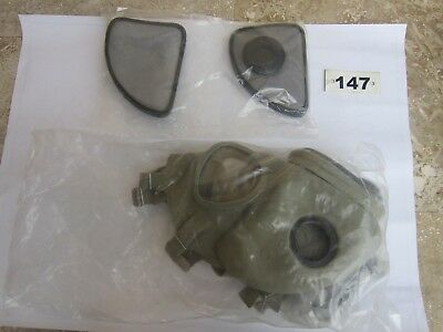 Czech Military M10 Gas Mask Kit.