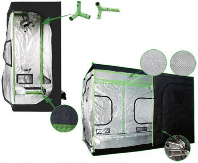 """Indoor Grow Tent 48""""x48""""x80"""":Highest Quality, Double Stitched, Steel Corners"""