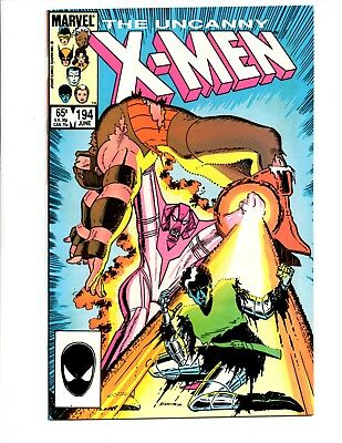 uncanny x-men 4 issue lot #194-197