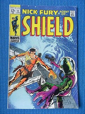 Nick Fury, Agent Of Shield # 11 - (Fn-) - Barry Smith Cover, Hate-Monger, Lbj