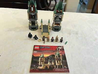 LEGO Harry Potter Hogwarts 4867 100% Complete with manual free shipping