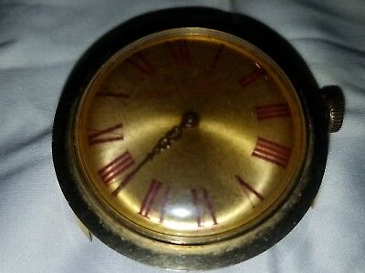Large Vintage Old England Swiss Made Wind-Up Watch
