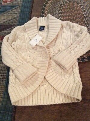 Nwt Baby Gap Toddler Girls Long Sleeve Sweater Size 18-24 Months