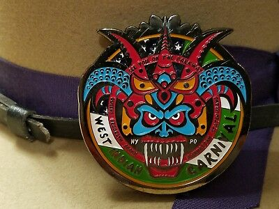 New York City Police Labor Day Parade West Indian Carnival Challenge Coin
