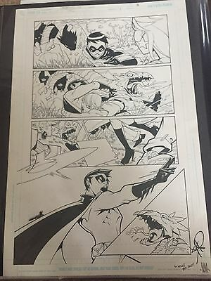 Wonder Girl issue 1, page 13 original art