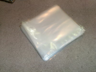 "20 New 10"" Plastic Outer Record Cover Sleeves * Free Post"