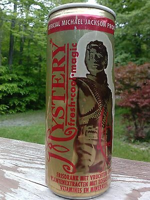 1996 Michael Jackson Mystery Drink Full Can Official History Tour Triumph Inc.