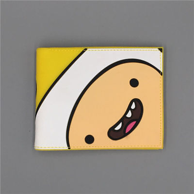 New Arrival Adventure Time with Finn and Jake Logo wallets mens wallet