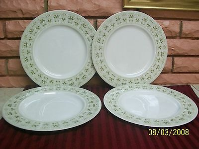 "Royal Doulton England Samarra  10 1/2"" Dinner Plates Set Of 4 Preowned"
