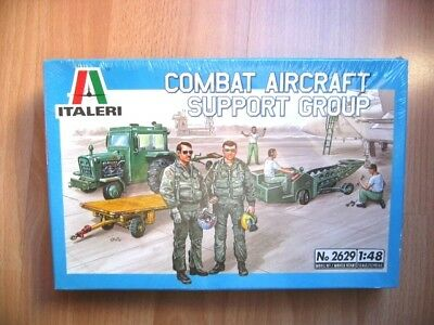 ITALERI 1/48 Combat Aircraft Support Group  # 2629