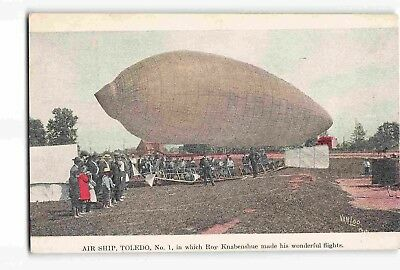 ST2619: AIR SHIP TOLEDO NO. 1, Historic C1906 postcard