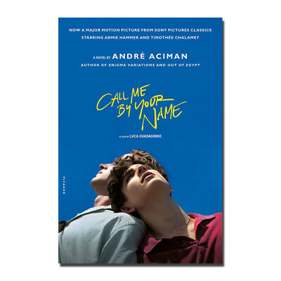 Call Me By Your Name Movie Silk Poster Wall Art Canvas Print 12x18 24x36 inch