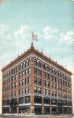 Wichita Kansas~Boston Department Store~Displays~Do You Remember This?~1908 PC