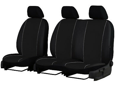 Peugeot Boxer 2+1 Artificial Leather Universal Front Seat Covers