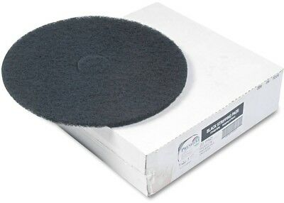 Boardwalk Black Standard Floor Pads, 20', 5 Count