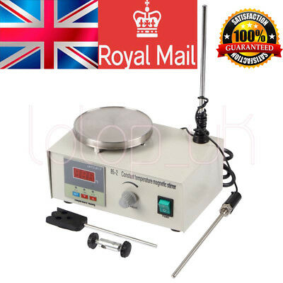 UK Laboratory Lab Magnetic Stirrer with Heating Plate 85-2 Hotplate Mixer 220V