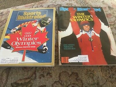Sports Illustrated Magazine 1980 Eric Heiden & 1988 Winter Olympics Special