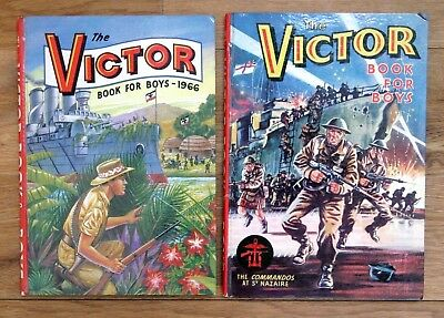 VICTOR ANNUALS 1964 & 1966, Both VERY GOOD Condition