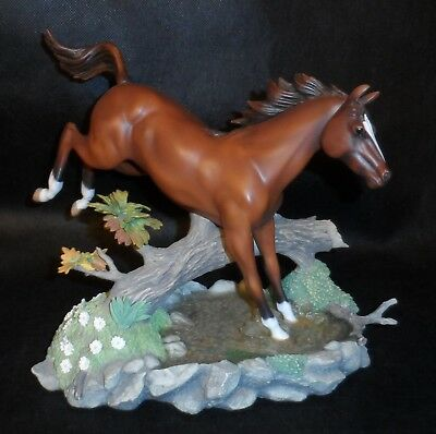 RARE 2002 Lenox Morning Turnout Horse Figurine Statue Leaping Jumping