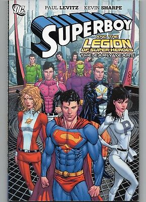 SUPERBOY + THE LEGION OF SUPER-HEROES: THE EARLY YEARS GN - free shipping.