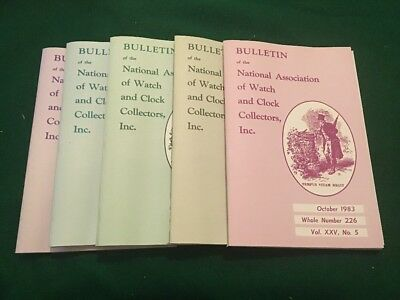 5 Bulletin of the National Association of Watch and Clock Collectors