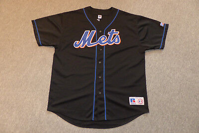 New York Mets Jersey Trikot, Mike Piazza 31, Hall of Fame, MLB Baseball, Russell