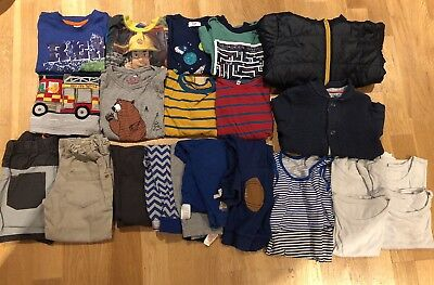 Toddler Boy Clothes Bundle 2-3 Yrs - incl. Joules, Ted Baker, Jojo Maman 23 item