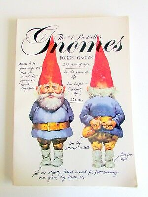 "Gnomes"" by Rien Poortvliet & Wil Huygen, Paperback, Artina Edition"